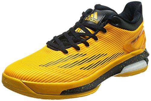 Adidas Crazylight Boost Lo Basketballschuhe Orange / Schwarz/ weiß