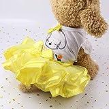 Jiobapiongxin Netter Hundehochzeits-Kleid-Rock-Sommer-Haustier-Kleidungs-Frucht-Entwurfs-Hundegeschirr-Kleid