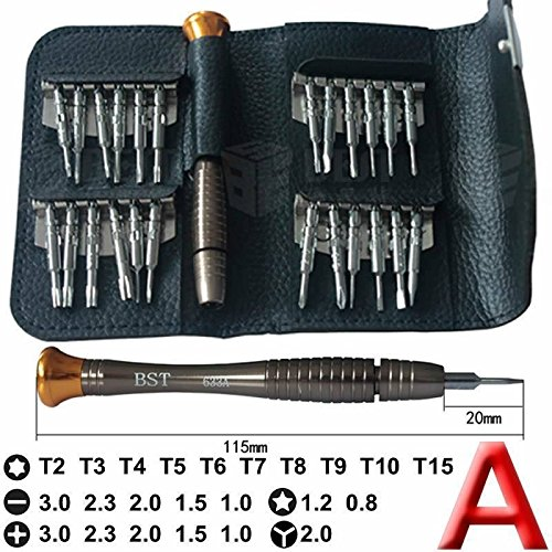 Kit tasca Strumenti magnetica 25in 1precisione cacciavite