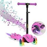 Hiboy S51 Scooter Roller, höhenverstellbar, 3-9 Jahre, Rosa