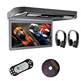 "Xtrons® 13.3"" HD 1080P Video Car MPV Roof Flip Down Slim Overhead DVD"