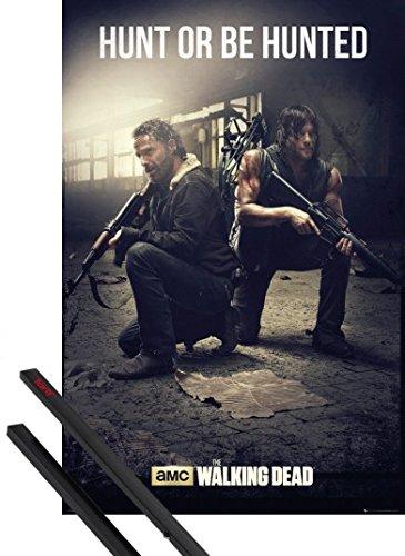 1art1 The Walking Dead Póster 91x61 cm Hunt Or Be