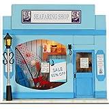 DIY Handmade Wooden Dollhouse Dolls House European Mini Shop - Seafaring Shop