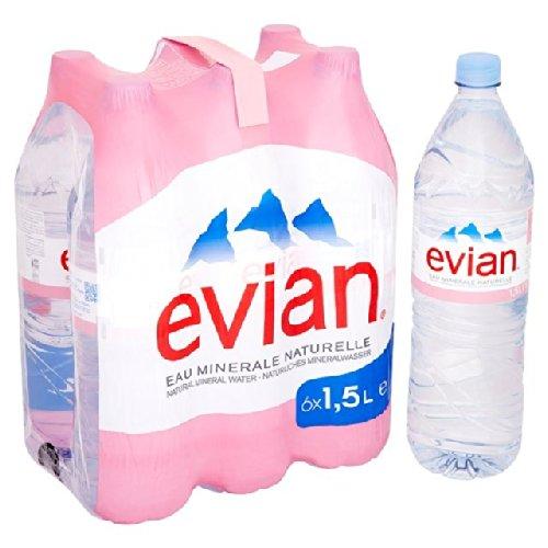 Noch Evian Mineralwasser 6 x 1,5 l (Evian Wasser)