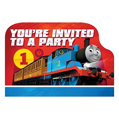 Thomas et Ses Amis Carte Postale Invitations