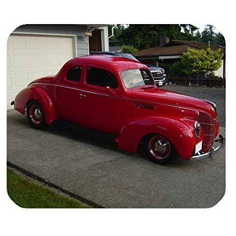 1939 Ford 5 Window Coupe Mousepad Personalized Custom Mouse Pad Oblong Shaped In 9.84