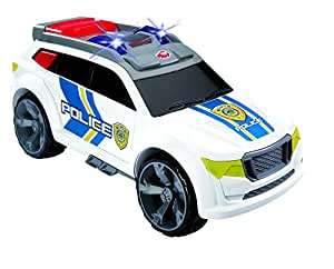Dickie Toys 203308355 – Action Series Interceptor, Polizei-Monstertruck, 32 cm