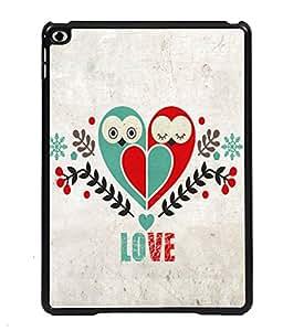 PRINTVISA Love Bird Premium Metallic Insert Back Case Cover for Apple IPad Air 3 - D5722