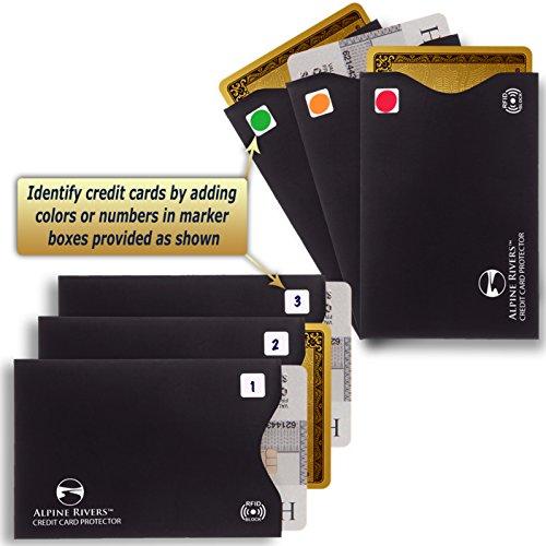 36594d26ca Set di 18 custodie unisex con protezione RFID per eccellente ...