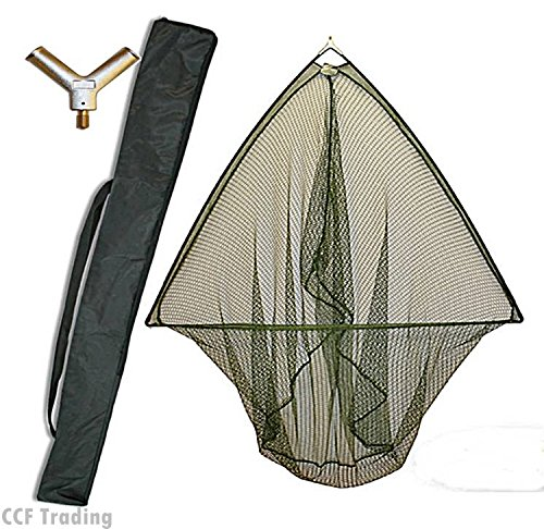 42-CARP-PIKE-FISHING-LANDING-NET-WITH-METAL-BLOCK-STINK-BAG-NGT