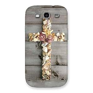 Cute Devine Sea Cross Back Case Cover for Galaxy S3 Neo