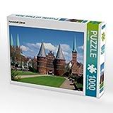 Hansestadt Lübeck 1000 Teile Puzzle quer (CALVENDO Orte) - Lothar Reupert