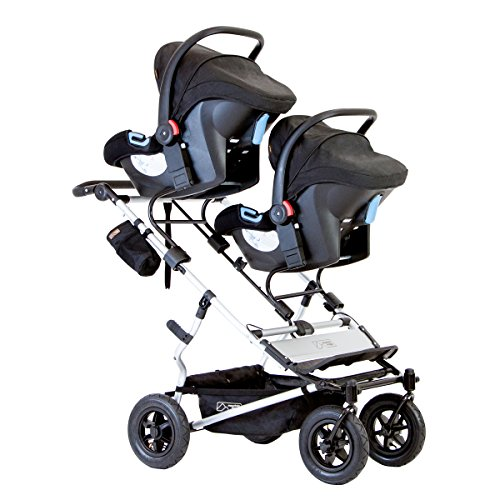 Mountain Buggy Evolution Duet Flint inkl. Regenschutz - 4