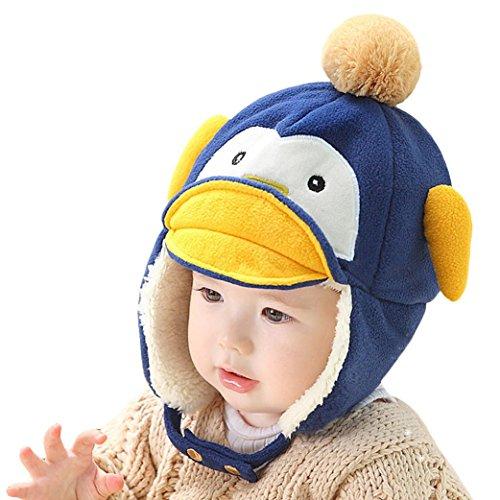 Oyedens Pato Lindo Del Bebé De La Historieta Sombreros Sombreros Del Bebé Del Sombrero Del Invierno Del Otoño