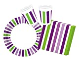 Procos 10117011 Party Set Grape Stripes