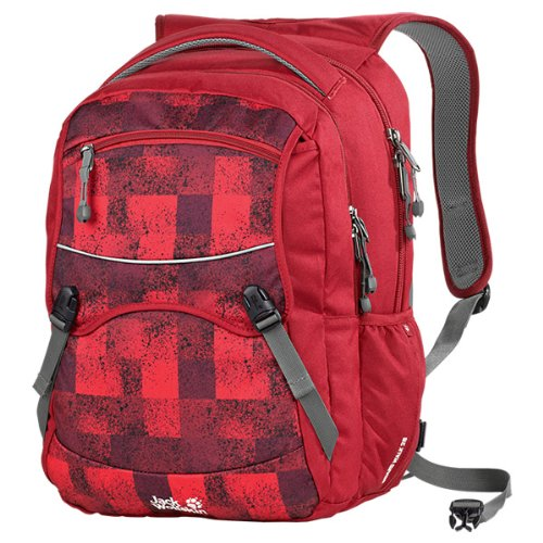 Jack Wolfskin Rucksack Board Walk 26, red sprinkles, ONE SIZE, 26 Liter, 25049-7481