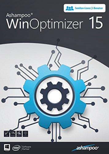 WinOptimizer 15 Tuning Software 3 USER Lizenz für Windows 10/8.1/8/7