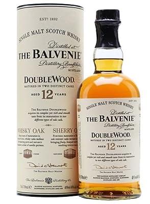 The Balvenie Double Wood 12 Year Old Single Malt Scotch Whisky, 70 cl