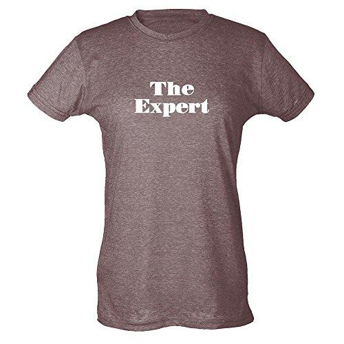Pop Threads Herren T-Shirt Heather Brown