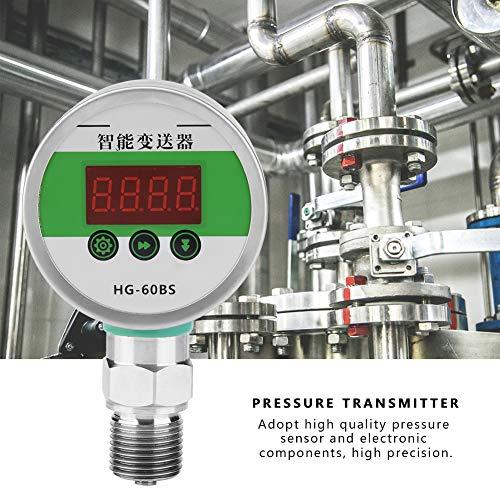 Digitaler Drucktransmitter,Digital Pressure Transmitter DC 24V 4-20mA G1 / 2