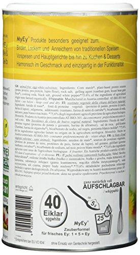 MyEy EyWeiß – Eiweiß-Ersatz – natürlich & voll aufschlagbar – vegan – 200g - 4