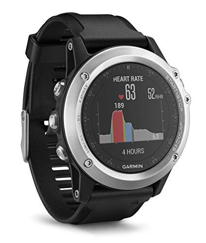 fenix 3 performer bundle Garmin fenix 3 HR GPS-Multisport, Smartwatch, Herzfrequenzmessung am Handgelenk, zahlreiche Navigations- und Sportfunktionen, GPS/GLONASS, 010-01338-77