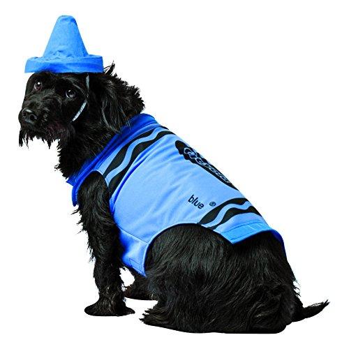 Blau Kinder Kostüm Crayon - Rasta Imposta Crayola Crayon Hundekostüm