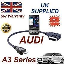 Cable AMI MMI de Audi A3 Series 2013+ para Blackberry Q5 4F0051510M - Cable Micro Usb