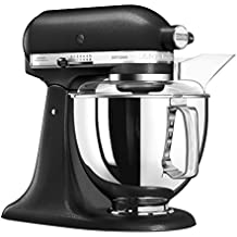 KitchenAid ARTISAN 5KSM175PSEBK– Batidora de cocina con equipamiento profesional, hierro fundido, color negro