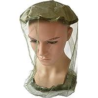Tropisches Moskito-Kopfnetz Kopfschutz mit Gummizug