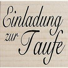 Stempel Einladung Zur Taufe, Kirche, Embossing, Karten Gestalten,  Scrapbooking