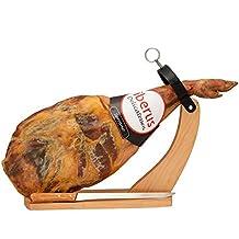 Serrano Schinken Spanien Gran Reserva mit Schinkenhalter und Messer - Paleta Serrana mit Halterung und Schinkenmesser