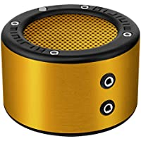 MINIRIG MINI Portable Rechargeable Bluetooth Speaker - 30 Hour Battery - Premium Stereo Sound - Gold