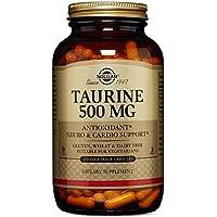 Solgar, Taurine, 500 mg, 250 Veggie Caps