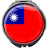 Pillendose/rund/Modell Leony/FLAGGE TAIWAN preisvergleich bei billige-tabletten.eu