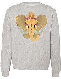 Elephant God Ganesha Design Sudadera Unisex