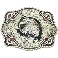 c7c4be4264ef Nocona - Boucle de ceinture rectangulaire - style western cowboy - fabriqué  aux États-