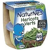 Nestlé naturnes haricots verts 2x130g dès 4/6 mois - ( Prix Unitaire ) - Envoi Rapide Et Soignée