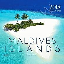 Calendrier Mural 2018 des Iles maldives
