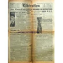 ACTION FRANCAISE (L') [No 146] du 23/06/1944 - APRES LE BOMBARDEMENT DU CREUSOT - AUX ETATS-UNIS - LES MINEURS N'ONT PAS PRIS LE TRAVAIL CETTE NUIT - L'EGALITE DEVANT LE SERVICE DU TRAVAIL OBLIGATOIRE - IL Y A 2 ANS L'ALLEMAGNE ENTRAIT EN GUERRE CONTRE LE BOLCHEVISME - LES ANGLO-AMERICAINS INTERVIENNENT DANS LE CONFLIT GIRAUD- DE GAULLE - LE ROI D'ANGLETERRE A MALTE - LA POLITIQUE PAR MAURRAS
