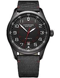 amazon co uk victorinox swiss made watches victorinox swiss army men analogue watch black dial analogue