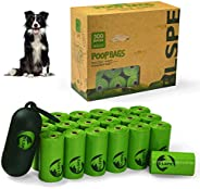 SWIPPLY Dog Poop Bags Pet Dog Supplies 300 Bag 20 Rolls With Dispenser and Waste Dog Poop Bag Leash Clip for D
