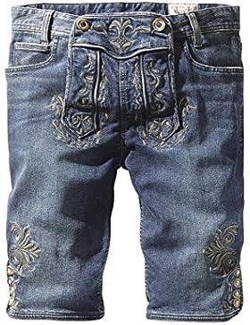 Stockerpoint - Herren Trachtenshort Jeans, Mick