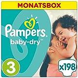 Pampers Baby Dry Windeln Gr.3 (5-9 kg), 1er Pack (1 x 198 Stück)