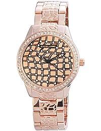 Excellanc 150935500006 - Reloj para mujeres, correa de diversos materiales color oro rosa