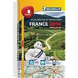 Atlas Routier France 2014 Michelin Compact Spirale