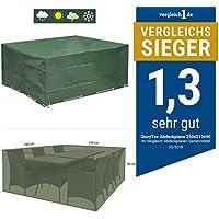 Funda para Muebles de Jardín 250x210x90 - Cubierta para muebles de jardín Impermeable Protección contra el lluvia y sol - Funda protectora para mesas de jardín de GloryTec