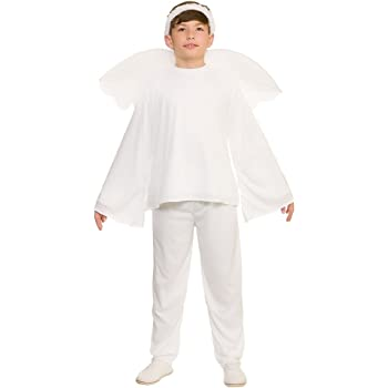 4e6358a53 Kids Boys White Nativity X-Large (11-13 years) Christmas Angel Fancy ...