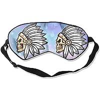 Indian Skull Head 99% Eyeshade Blinders Sleeping Eye Patch Eye Mask Blindfold For Travel Insomnia Meditation preisvergleich bei billige-tabletten.eu