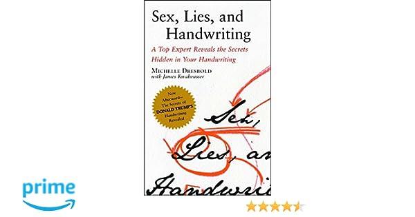 Sex lies and handwriting